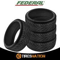 (4) New Federal SS595 215/40ZR16 86W XL Tires