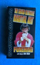 THE GRAND ULTIMATE MARTIAL ART Volume 1 PUNCHING VHS Bob Klein Phantom Kung-Fu