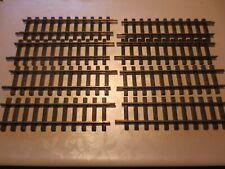 8 LGB Schienen 1000 gerade auch für Playmobil Eisenbahn geeignet