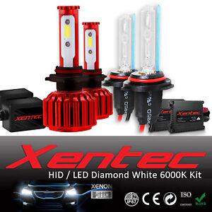 Xentec Xenon Light HID LED Headlight Kit 881 9005 9012 893 9006 5202 Hb3 886