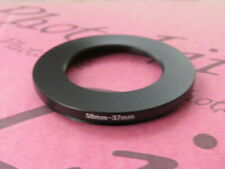 58-37 58mm-37mm Stepping Step Down Filter Ring Adapter 58mm-37mm