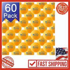 KEVENZ 60-Pack 3-Star 40+ Table Tennis Orange Ball Advanced Ping Pong Sport New
