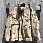 Desert M65 Jacket Small Regular & Liner 1991 Desert Storm Air Force Patches