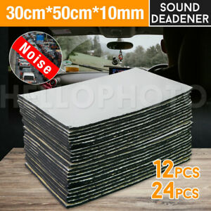 50x30CM Sound Deadener Heat Proof Insulation Noise Proofing Foam Car Auto Shield