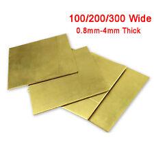 Messingplatte Messingblech Messing Zuschnitt Metall 0,8/1/1,2/1,5/2/2,5/3/4mm