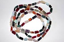 Multicolor ,Rechteckkette, Steingröße ca. 4-6 mm, endlos