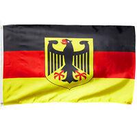 Deutschland Fahne mit Adler 60 x 90 Flagge mit Ösen EM WM 2018 Banner Fußball