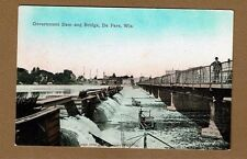 De Pere,Brown County,WI Wisconsin Government Dam and Bridge, not used