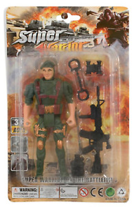 GIFTWORKS SUPER WARRIOR ON THE BATTLEFIELD - 2488 ARMY SOLIDER ACCESSORIES TOY