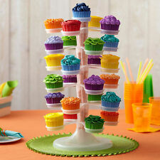 Adjustable Cupcake Tower Stand 25 Cupcake Centerpiece Fillable