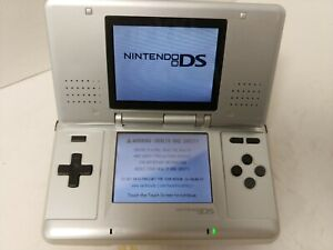 Nintendo DS Handheld Console NTR-001 Silver  D4
