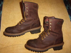 Red Wing Shoes IRISH SETTER steel toe work  BOOTS MEN'S SIZE: 9 D