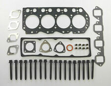FOR CARBODIES LTI FX FAIRWAY TX1 TAXI 2.7TD NISSAN TERRANO HEAD GASKET SET BOLTS