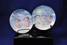 VTG Hamilton Dreamsicles Plate Collection 'Loves Shy Glance' & 'Flying Lession'