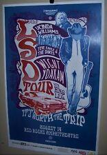 DWIGHT YOAKAM & LUCINDA WILLIAMS Steve Earl in Concert Show Poster Denver Co LSD
