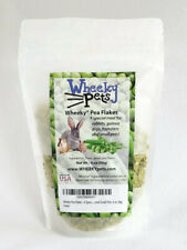 Wheeky Pea Flakes - A Special Treat for Rabbits, Guinea Pigs, Hamsters and Small