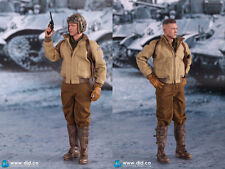 1/6 DID US 2nd Armored Division Hell on Wheels FURY SSGT Donald Brad Pitt Model