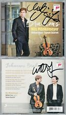 Nils MÖNKEMEYER, William YOUN Signed BRAHMS Viola Sonata 1 2 Hungarian Dances CD