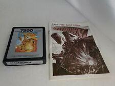 Meltdown for Atari 7800 Cartridge & Manual Pal Ver (NOT FOR USA) K13