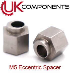 M5 5mm Screw Nut Stainless Steel ECCENTRIC SPACER For V Wheel CNC 3D Printer