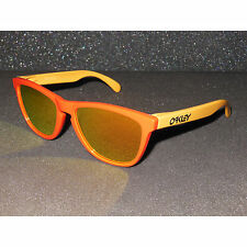 New Oakley Frogskins Sunglasses Hotspot/Fire Iridium Retro Aquatique Edition