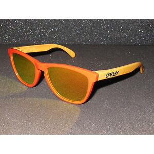 New* Oakley Frogskins Sunglasses Hotspot/Fire Iridium Retro Aquatique Edition