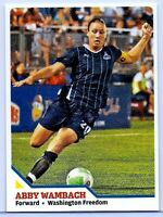 ABBY WAMBACH 2010 SPORTS ILLUSTRATED SOCCER! WORLD CUP CHAMPION!