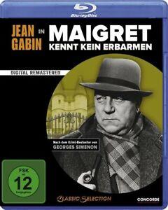 Maigret kennt kein Erbarmen [Blu-ray/NEU/OVP] Zweiter Film, in dem Jean Gabin de