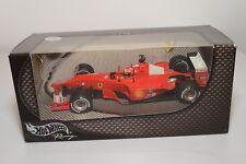 V 1:24 HOTWHEELS FERRARI F1 RACING CAR 2000 MICHAEL SCHUMACHER MINT BOXED