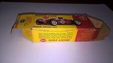Dinky Toys scatola originale per art.242 Ferrari Racing Car del 1965.