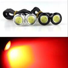 2X Red 9W LED Eagle Eye Car Light Fog DRL Daytime Parking Backup Signal Blub