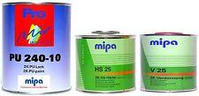 Mipa 2K-Lack RAL (6019) Weissgrün, MATT, 2 Liter Set, #MP20