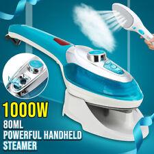 1000W Portable Handheld Electric Steam Iron Steamer Brush Travel Laundry