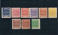Samoa. Conjunto de 9 sellos clásicos nuevos