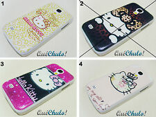 FUNDA CARCASA RÍGIDA PARA SAMSUNG GALAXY S4 MINI I9190 HELLO KITTY + FILM