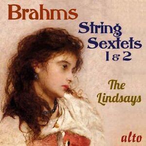 BRAHMS: STRING SEXTETS 1 & 2: THE LINDSAYS (CD)