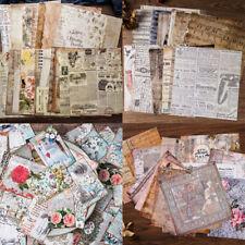 Retro Background Paper Sheet Scrapbooking Pads DIY Card Album Making Craft Decor