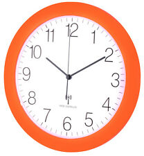 Horloge murale radio-pilotée TFA 60.3512.13 Orange Montre RADIO Silencieux 300