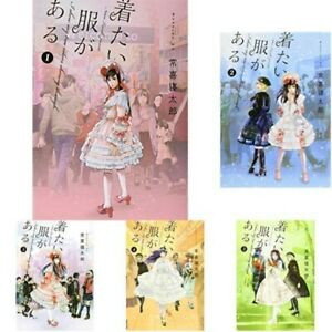 New Kitai Fuku ga Aru 着たい服がある 1-5 Complete set / Japanese Comic Manga Book