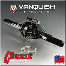 Vanquish VPS06602 Currie Rockjock Rear Axle Assembly Black Axial SCX10