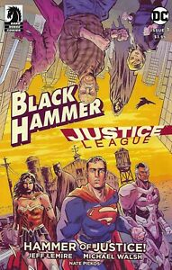 Black Hammer Justice League Comic 1 Hammer Of Justice Cover A 2019 Jeff Lemire