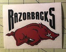 University Of Arkansas Razorback Decal for your Yeti Rambler Tumbler