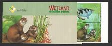 SINGAPORE 2000 CARE FOR NATURE SERIES WETLAND WILDLIFE FISH & OTTER BOOKLET MINT