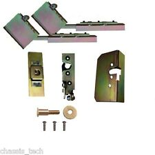 Universal Tailgate Suicide Swing Hinges & Latches Hidden Kit Weld In Parts