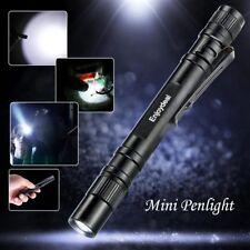 1PCS Enjoydeal LED 1000Lumens Lamp Clip Mini Penlight Flashlight Torch NEW