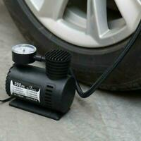 300PSI DC 12V Portable Electric Mini Tire Inflator Pump Auto New For Car Ca R7N4