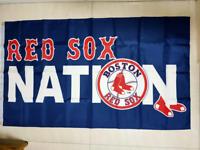 Boston Red Sox Flag 3ft x 5ft Polyester Baseball MLB Banner Free Shipping!!!