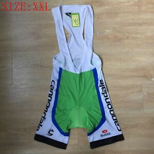 Lycra Cycling Shorts Mens Padded Bike Bicycle Bib Shorts Racing Clothes Size XXL