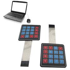2017 16Key 4x4 Membrane Switch Keypad 4*4 Array Matrix keyboard for arduino car