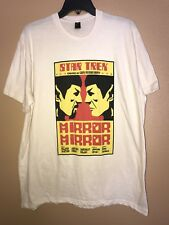 Vintage Star Trek Spock Mirror Mirror T-Shirt Light Tan Size Xl By Lootcrate